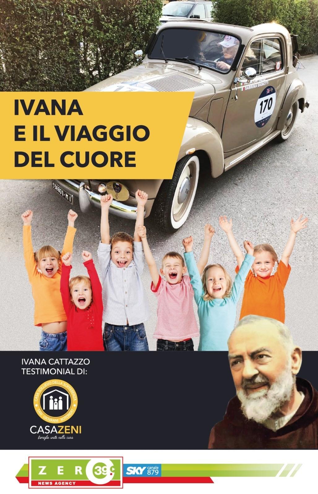 Die Reise des Herzens: Ivana Cattazzo vom Viazero39 Club wird ...
