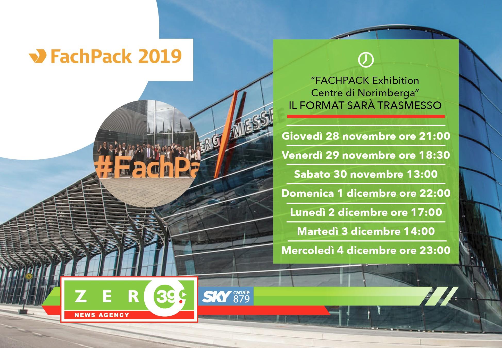 FACHPACK Exhibition Centre di Norimberga