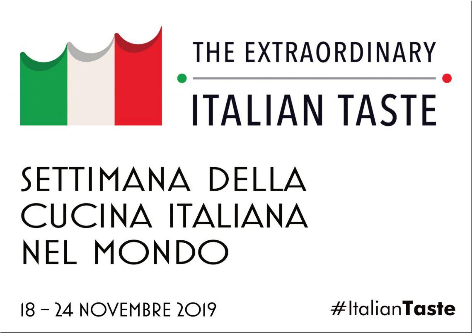 """italiantaste """"Settimana della Cucina Italiana nel Mondo"""""""