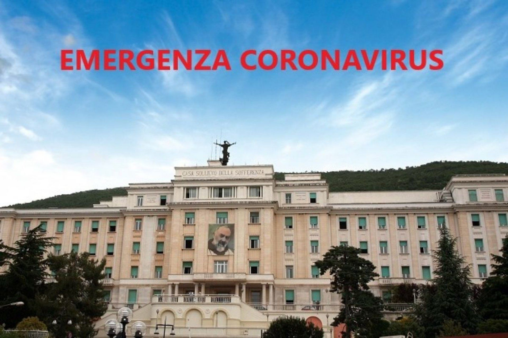 casa sollievo corona virus